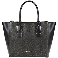 Buy Ted Baker Eleanor Textured Large Shopper Bag Online at johnlewis.com