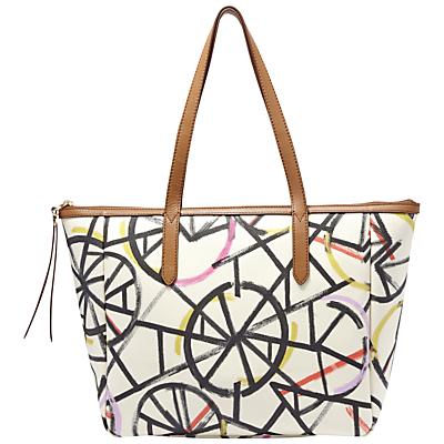 Fossil Sydney Printed Shopper Bag Bright Multi