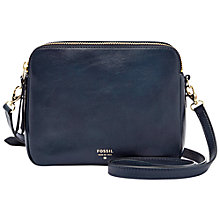 Buy Fossil Sydney Leather Crossbody Bag Online at johnlewis.com