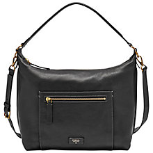 Buy Fossil Vickery Leather Shoulder Bag Online at johnlewis.com