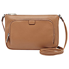 Buy Fossil Riley Leather Mini Shoulder Bag Online at johnlewis.com
