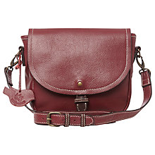 Buy White Stuff Ollie Crossbody Bag, Plum Brand Online at johnlewis.com