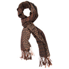 Buy Chesca Animal Print Scarf Online at johnlewis.com