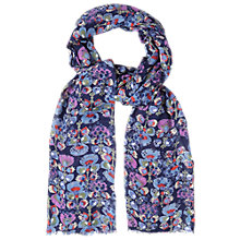 Buy White Stuff Gypsy Feather Scarf, Blue Online at johnlewis.com