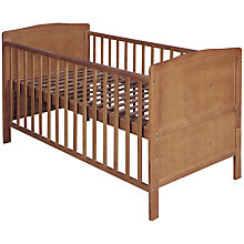 Buy John Lewis Marlow Cotbed, Dark Wood Online at johnlewis.com