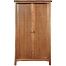 Buy John Lewis Marlow Wardrobe, Dark Wood Online at johnlewis.com
