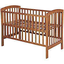 Buy John Lewis Marlow Cot, Dark Wood Online at johnlewis.com