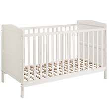 Buy John Lewis Marlow Cotbed, White Online at johnlewis.com