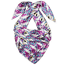 Buy John Lewis Archive Silk Pretty Lady Scarf, Multi Online at johnlewis.com