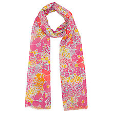 Buy John Lewis 50s Floral Scarf, Multi Online at johnlewis.com