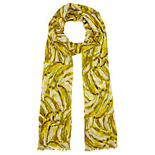 Buy John Lewis Banana Scarf, Yellow Online at johnlewis.com
