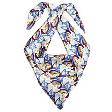 Buy John Lewis Archive Lady In Hat Silk Scarf, Multi Online at johnlewis.com