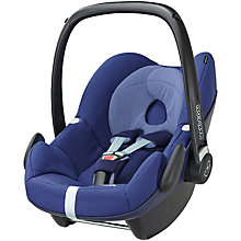 Buy Maxi-Cosi Pebble Group 0+ Baby Car Seat, River Blue Online at johnlewis.com