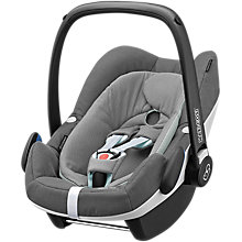 Buy Maxi-Cosi Pebble Plus i-Size Car Seat, Concrete Grey Online at johnlewis.com