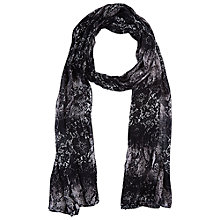Buy Betty Barclay Snake Print Long Scarf, Black/Taupe Online at johnlewis.com