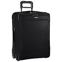 Buy Briggs & Riley Transcend Expandable 2-Wheel Medium Suitcase, Black Online at johnlewis.com