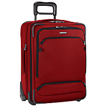 Buy Briggs & Riley Transcend 2-Wheel Expandable 53.3cm Cabin Suitcase, Crimson Online at johnlewis.com