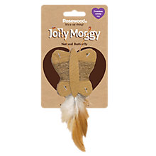 Buy Rosewood Jolly Moggy Butterfly Cat Toy Online at johnlewis.com