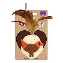 Buy Rosewood Jolly Moggy Feather Bird Cat Toy Online at johnlewis.com