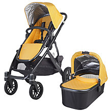 Buy Uppababy Vista 2015 Pushchair and Carrycot, Maya Online at johnlewis.com