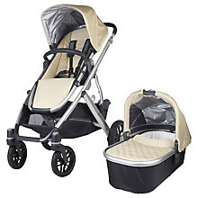 Buy Uppababy Vista 2015 Pushchair and Carrycot, Lindsey Online at johnlewis.com