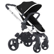 Buy iCandy Peach 3 Pushchair with Chrome Chassis & Black Magic Hood Online at johnlewis.com