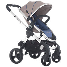 Buy iCandy Peach 3 Pushchair with Chrome Chassis & Azure Hood Online at johnlewis.com