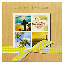 Buy Simply Remember Cross & Blossom Happy Easter Greeting Card Online at johnlewis.com