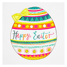 Buy Easter Chiffon - Happy Easter Greeting Card Online at johnlewis.com