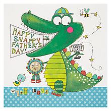 Buy Rachel Ellen Happy Snappy Father's Day Card Online at johnlewis.com
