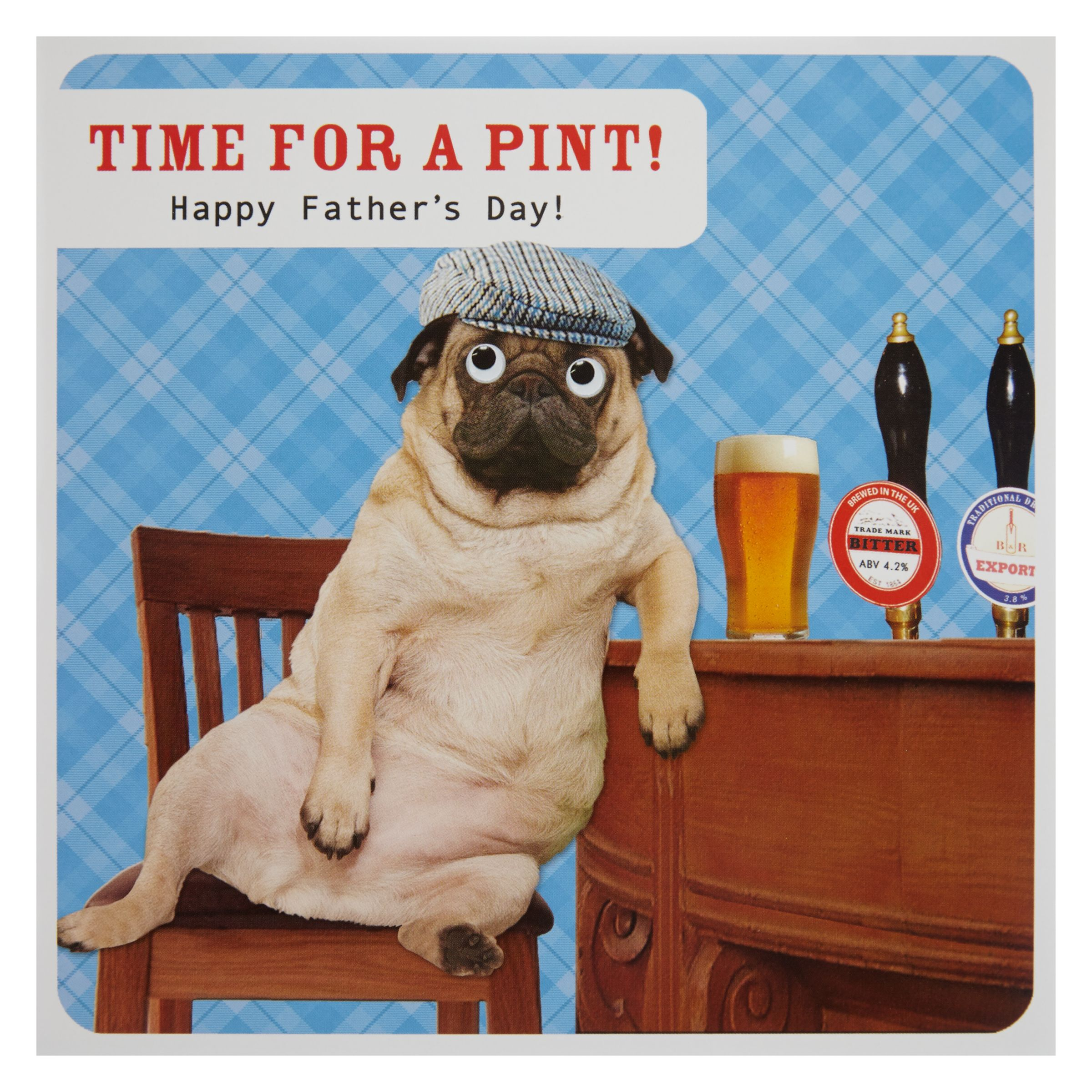 Paperlink Paperlink Time For A Pint Father's Day Card