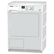 Buy Miele TDA150 Condenser Tumble Dryer, 7kg Load, B Energy Rating, White Online at johnlewis.com