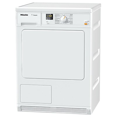Miele TDA140 Condenser Tumble Dryer, 7kg Load, B Energy Rating, White