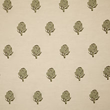 Buy Emily Bond Green Artichoke Furnishing Fabric Online at johnlewis.com