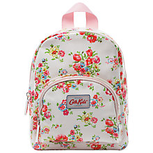 Buy Cath Kidston Children's Cranham Padded Rucksack, White Online at johnlewis.com