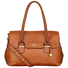 Buy Fiorelli Olivia Jade Flapover Shoulder Bag, Tan Online at johnlewis.com