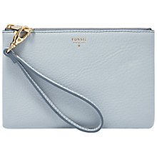Buy Fossil Gift Wristlet Pouch Leather Purse Online at johnlewis.com