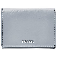 Buy Fossil Sydney Gusseted Key Case, Smokey Blue Online at johnlewis.com