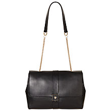 Buy Modalu Dahlia Leather Small Shoulder Bag, Black Online at johnlewis.com