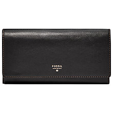 Buy Fossil Sydney Leather Flap Wallet Online at johnlewis.com