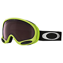 Buy Oakley OO7044 Green Collection Prizm® A-Frame 2.0 Snow Goggles, 59-749 Green Online at johnlewis.com