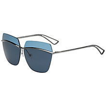 Buy Christian Dior Diormetallic Polarised Rectangular Sunglasses Online at johnlewis.com