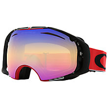 Buy Oakley OO7037 Ski Snow Goggles, 59-671, Red Online at johnlewis.com