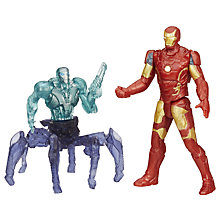 "Buy Avengers Age of Ultron 2.5"" Action Figures, Pack of 2, Assorted Online at johnlewis.com"