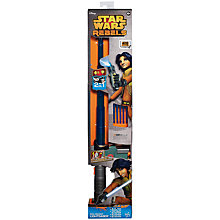Buy Star Wars Rebels Ezra Bridger Lightsaber Blaster Online at johnlewis.com