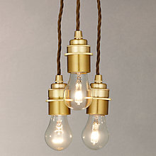 Buy Calex Cord Ceiling 3 Drop Pendant Online at johnlewis.com