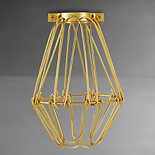 Buy Calex Brass Bulb Cage Online at johnlewis.com