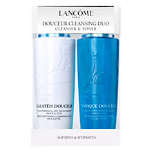 Buy Lancôme Duo Douceur Cleanser and Toner Online at johnlewis.com