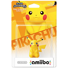 Buy Amiibo: Smash Pikachu, Nintendo Wii U Online at johnlewis.com