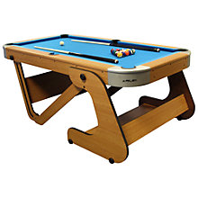Buy BCE Riley 6 Foot 6 Inch Folding Pool Table Online at johnlewis.com